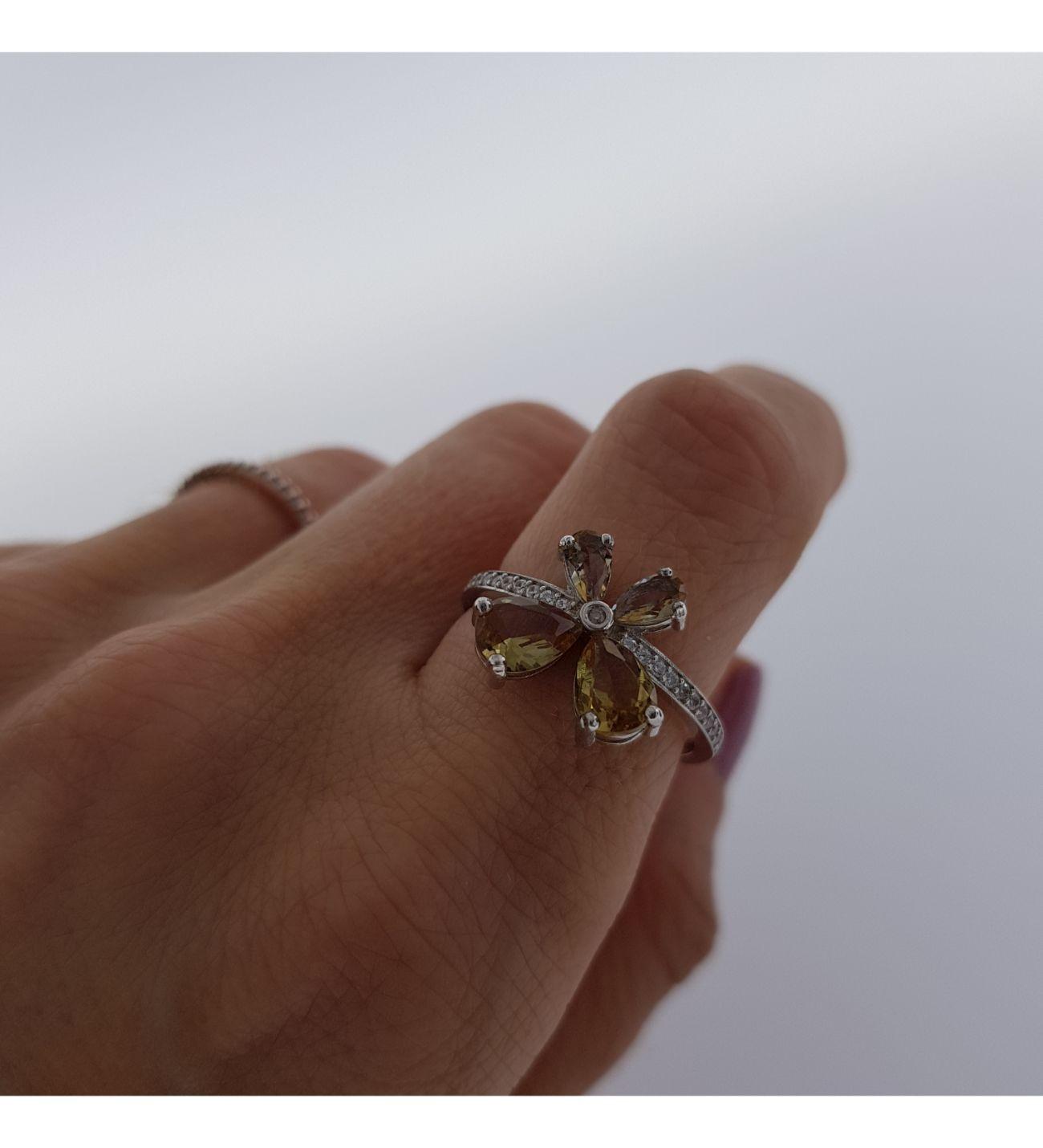 Nevinci Zultanite Kelebek Yüzük Fotoğrafı